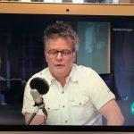 Talking on Norwegian radio and TV