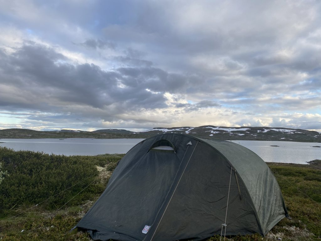 Hiking at Hardangervidda