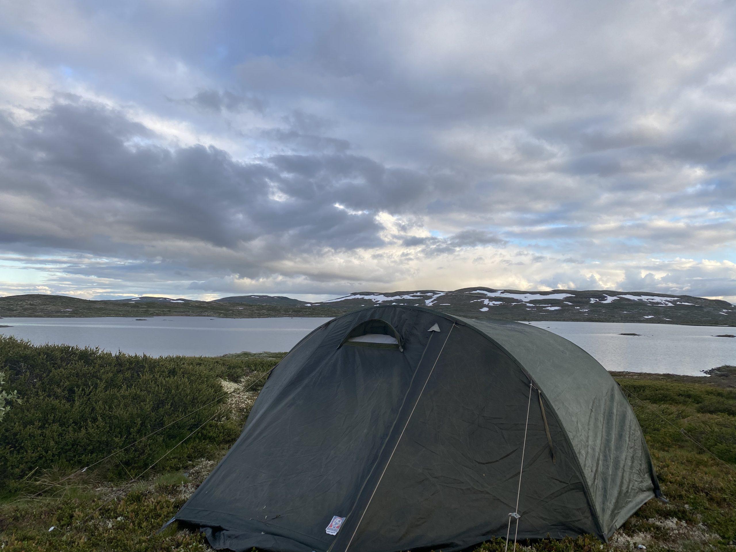 Hiking at Hardangervidda